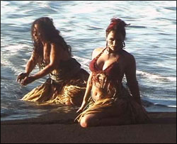 Belly Dance into the Sea