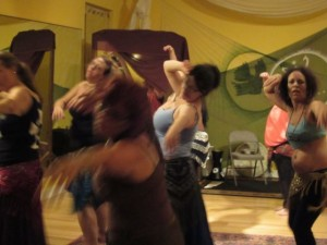 First Zombie Belly Dance Class