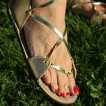 Egyptian Sandal (Metallic)