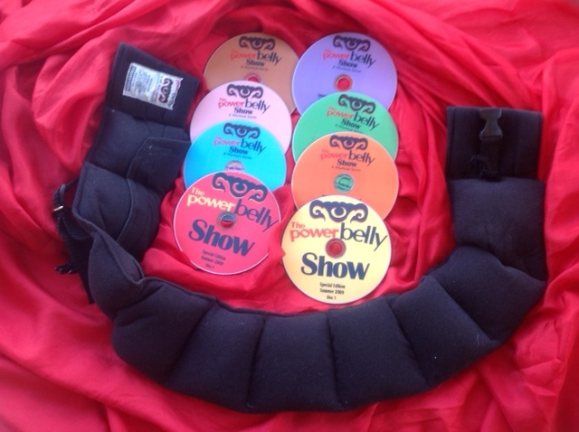 The Power Belly Show Deluxe Weight Belt & Instructional DVD Package