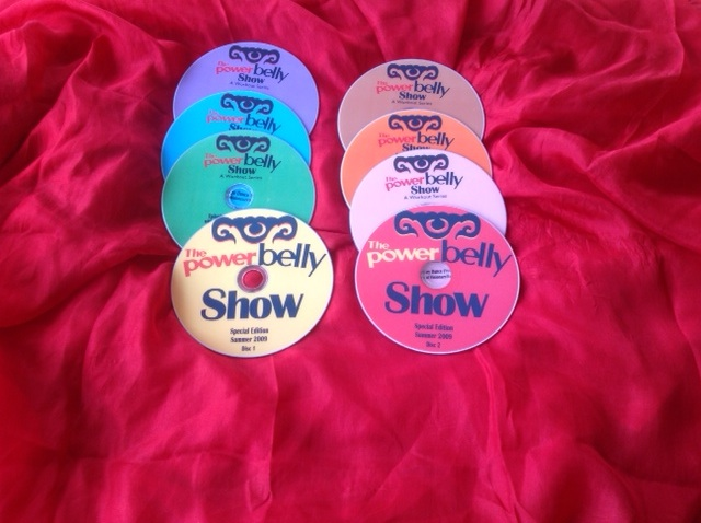 The Power Belly Show on DVD 4 Set Package!
