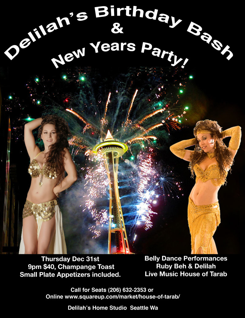 Ruby Beh, Delilah, house of tarab, new years eve